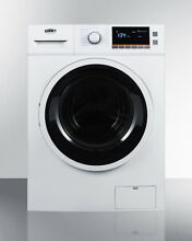 Summit SPWD2200W  24  Combo Washer Dryer Ventless Front load 120 Volt