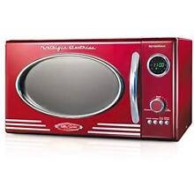 RMO400RED Countertop Microwave Ovens Retro 0 9 Cubic Foot