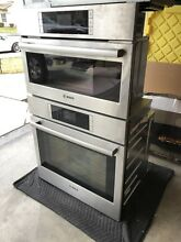Bosch HSLP751UC Benchmark 30  Stainless Steel Electric Wall Oven   Steamer Oven