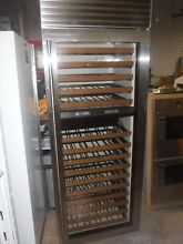 Sub zero w8 30 wine cooler 30 wide built in stainless 2010 build