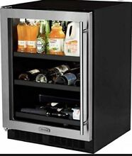 Marvel ML24BCG1LS 24 Inch Built in Beverage Center Stainless Steel And Glass