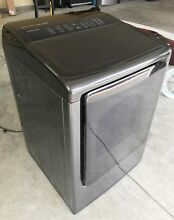 Used Samsung DV50K8600GV A3 7 4 cu  ft  Large Capacity Gas Front Load Dryer