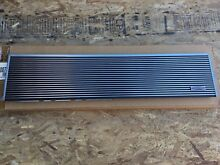 Subzero 48  Stainless Steel Grille for Model 632 Refrigerator Part 7007308