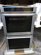 KitchenAid KEBS209BSS 30  Stainless Built In Double Oven w Evenheat