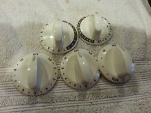 Kenmore Electric Range Burner Knobs  Set  PN 316442402 316442408 316442411