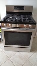 Range   Samsung 30  Free Standing  5 Burner Convection   Gas