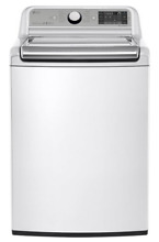 WT7500CW LG 27  5 2 Mega Capacity Top Load Washer with 950 rpm and Stain  NEW