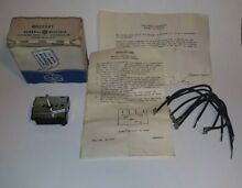 GE General Electric STOVE SWITCH WB22X41 Vintage NoS New Old Stock Oven Part