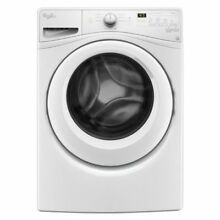 New Open Box Whirlpool Front Load Washer 4 5 cu ft  White WFW75HEFW