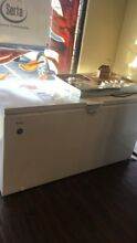 New Open box Whirlpool 22 Cu  Ft  Chest Freezer White WZC5422DW