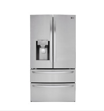 LG LMXS28626S 35 7  27 8 cu  ft  Stainless Steel French Door Refrigerator WI FI