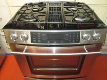 Jenn Air   All Gas Range   Extra Nice Stainless   New Glasstop   Downdraft