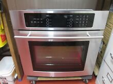 Jenn Air Electric Wall Oven   Extra Nice Stainless Steel