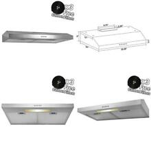 Akdy 30  Stainless Steel Under Cabinet Kitchen Grease Filters Range Hood