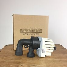 Whirlpool Wash Pump WP99003730 Factory Certified Parts Askoll Part 6919719 Italy