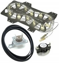 Dryer Heating Element Thermostat Fuse w  Belt Heater Parts Samsung DC47 00019A
