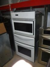 Thermador white combo microwave  warming drawer and oven 27inch