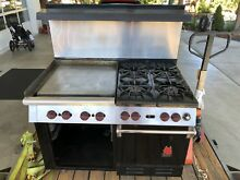 Wolf Gourmet Series 6 Burner and Griddle  48  with Gas Oven