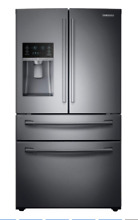 SAMSUNG RF28HMEDBSG 28 cu  ft  4 Door French Door Refrigerator Black Stainless
