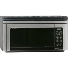 1 1 Cu  Ft  850W Over The Range Convection Microwave Oven in Stainless Steel