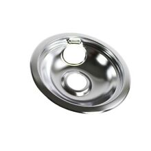 Brand NEW Shipped FAST Frigidaire 316048414 Range Drip Pan  6 in   Chrome  000