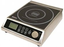 Max Burton 6515 Digital ProChef 1800 Induction Cooktop  Digital Controls  10 15