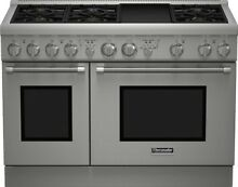 Thermador PRO Harmony Series 48 Inch Gas Freestanding Range PRG486GDH