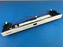 Genuine Bosch Dishwasher Control Panel Assembly 00771843 11013384