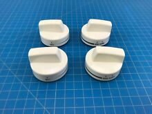 Genuine Whirlpool Range Oven Surface Burner Knob W10160648 W10424331 Set of 4
