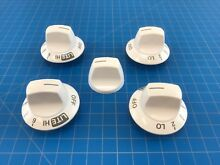 Genuine Kenmore Range Oven Surface Burner Knob 316240700 316240800 Set of 5