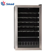 SMAD 35 Bottles Wine Cellar Compact Mini Fridge Beverage Cooler Rack Home Bar