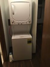General Electric Stacked Washer Dryer Combo GUD24