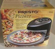 Presto Pizzazz Black 13 25 in  Electric Ovens