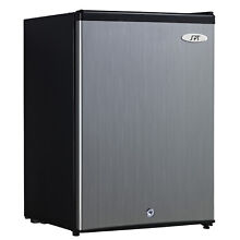 2 1 Cu  Ft  Stainless Steel Energy Star Upright Freezer