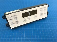 Genuine GE Range Oven Electronic Control Board w Overlay WB27T10350 WB27K10011