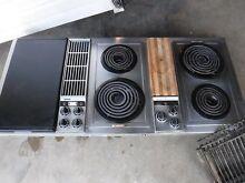 Jenn Air c301 downddraft 3 bay cooktop stainless