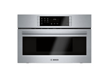 Bosch HMC8022UC 30 Inch Wide 1 6 Cu  Ft  Built In Microwave Oven with SpeedChef