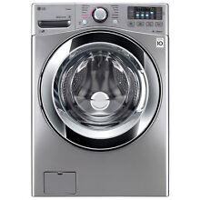LG WM3670HVA Large Capacity Gray Washer