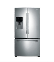 Samsung RF263BEAESR 36  24 6 cu  ft  Stainless Steel French Door Refrigerator