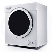 Ivation 3 21 Cu ft Small Compact Portable Ventless Electric Dryer For Clothes