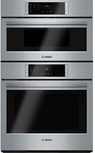 Bosch Self cleaning Convection Microwave Wall Oven Combo  Stainless St