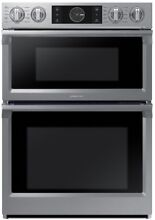 Samsung Self cleaning Convection Microwave Wall Oven Combo  Stainless Steel  30