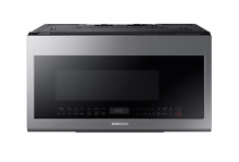 Samsung ME21M706BAS 2 1 Cu  Ft  Stainless Steel Over the Range Microwave