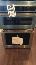 New Open Box KitchenAid 30  Electric Oven Microwave Combo Built In Stainless Ste
