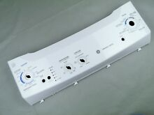 Washer Dryer White Control Panel WE19M10010