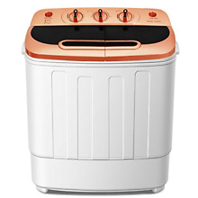 Washing Machine and Spin mini Portable Mini Compact Twin Tub 13Ibs Capacity Do