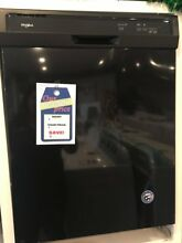 New Open Box Whirlpool  24  Built In Dishwasher Black WDF130PAHB