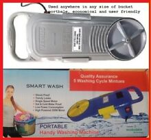 HAND WASHING MACHINE UTILIZES ONLY A BRACKET OF WATER PER WASH LOW POWER GVCE321