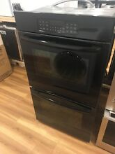 JK3500DFBB GE 27  Built In Double Wall Oven   Black