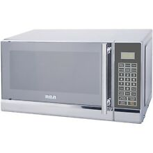 RCA 700 Watts 0 7 Cu  Ft  Stainless Microwave RMW741 Stainless Steel